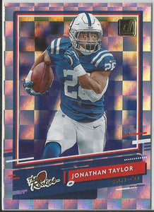 Jonathan Taylor 2020 Donruss The Rookies #TR-JT Rookie Card