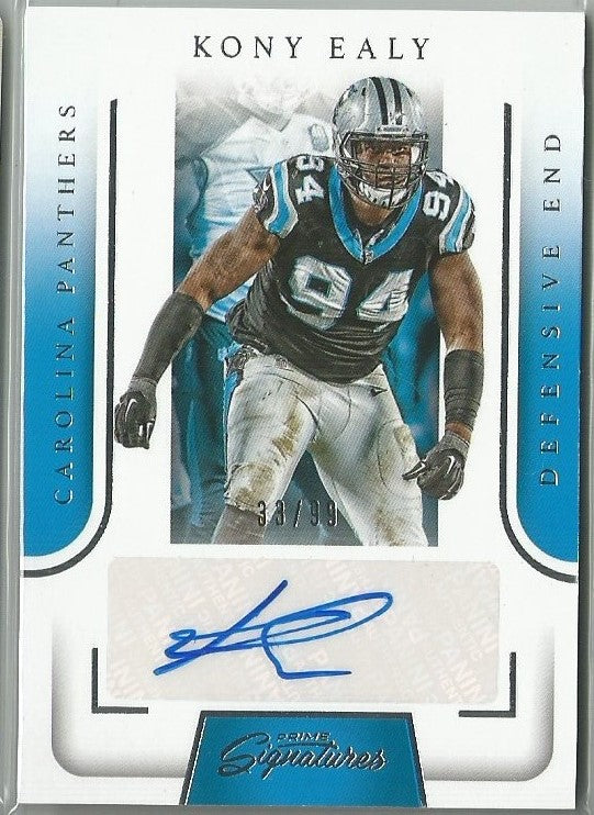 Kony Ealy 2016 Prime Signatures Autograph 93/99 - jjb-hobby-crafts