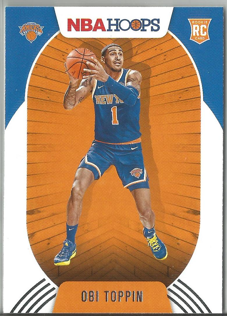 Obi Toppin 2020-21 Panini NBA Hoops Rookie Card #226