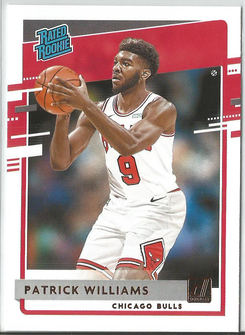 Patrick Williams 2020-21 Panini Donruss Basketball Rated Rookie #227
