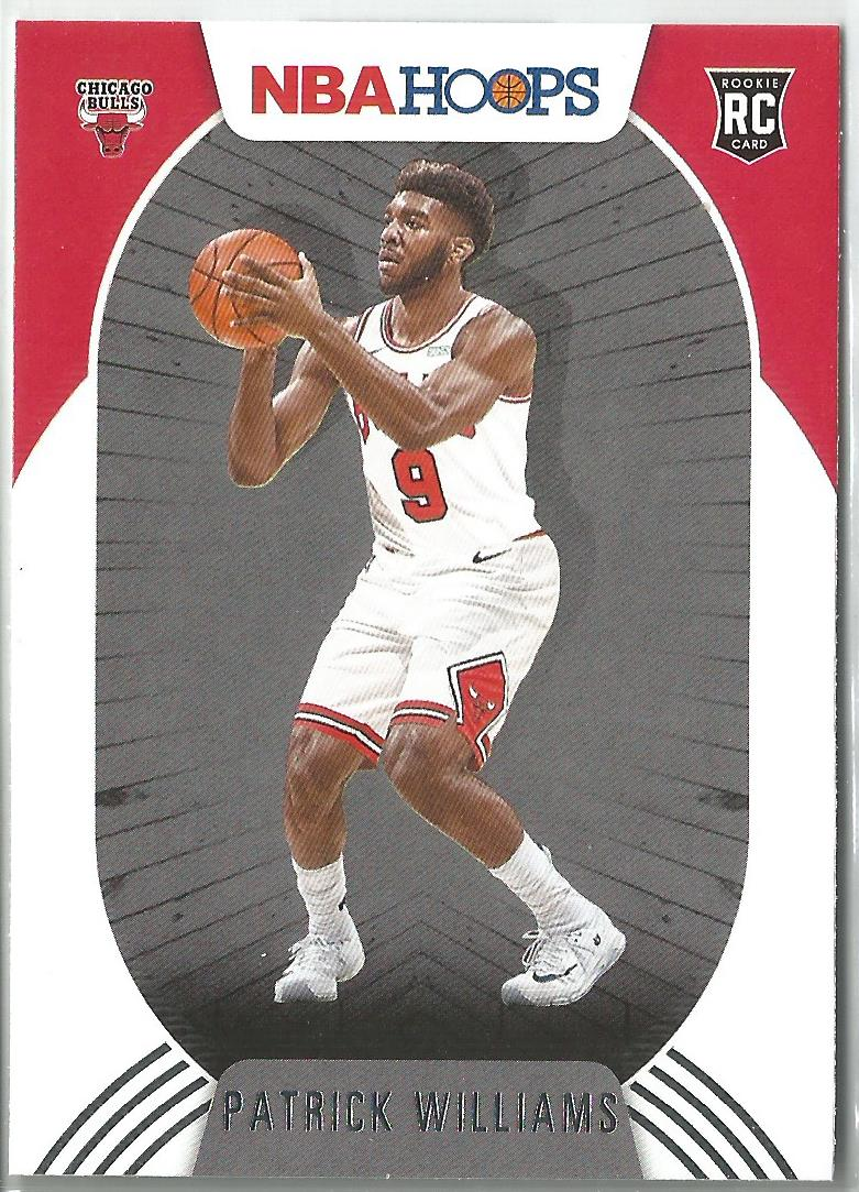 Patrick Williams 2020-21 Panini NBA Hoops Rookie Card #228