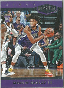 Marvin Bagley III 2018-19 Chronicles Basketball Plates & Patches Rookie 113/249