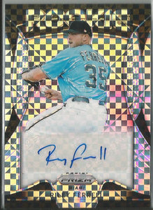 Riley Ferrell 2019 Prizm Rookie Autograph Power Plaid Prizm 35/75