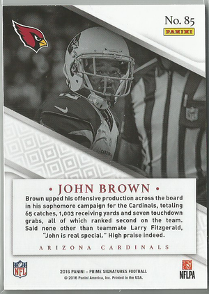 John Brown 2016 Prime Signatures Green 07/10 SSP! - jjb-hobby-crafts