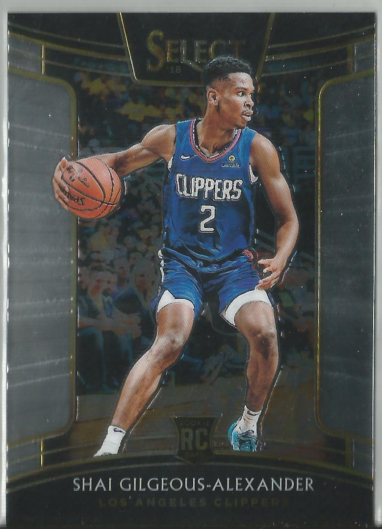 Shai Gilgeous-Alexander 2018-19 Select Concourse Rookie Card #7