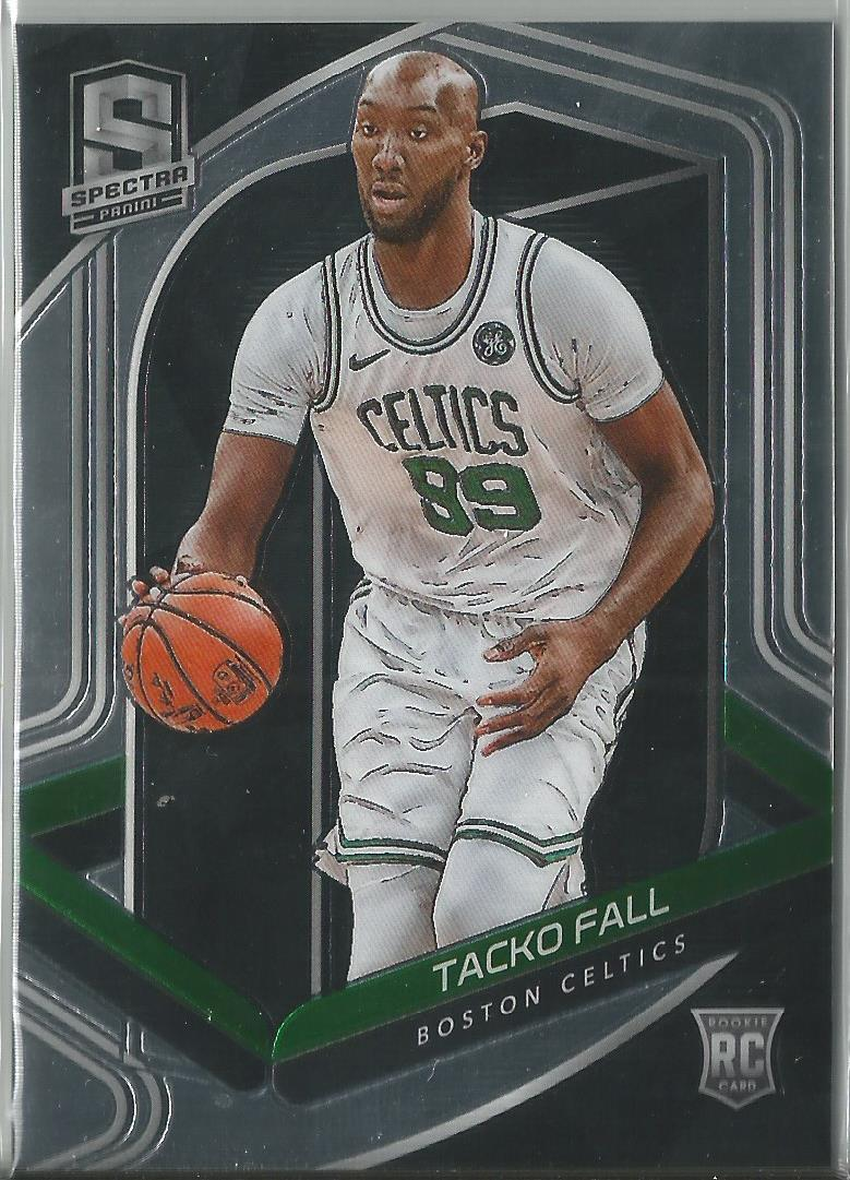 Tacko Fall 2019-20 Panini Spectra Rookie Card #134