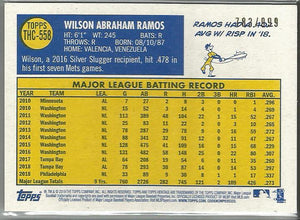 Wilson Ramos 2019 Topps Heritage High Number Chrome 783/999