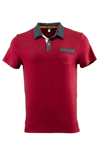 Bryant Park Soft Jersey Combo Pocket Polo