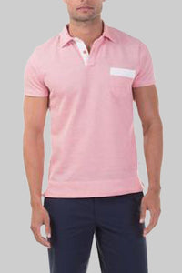 Hyannis Polo - Pink Pique
