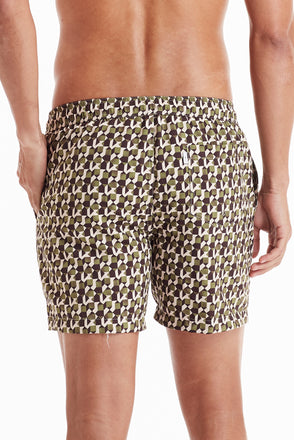 "Nantucket Drawstring 5"" Leopard Print Trunk"