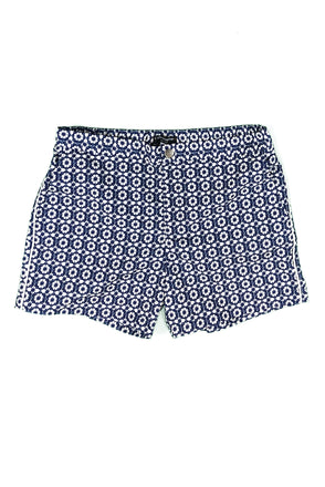 "Newport Button Zip-Fly 5"" Cubed Swim Short"