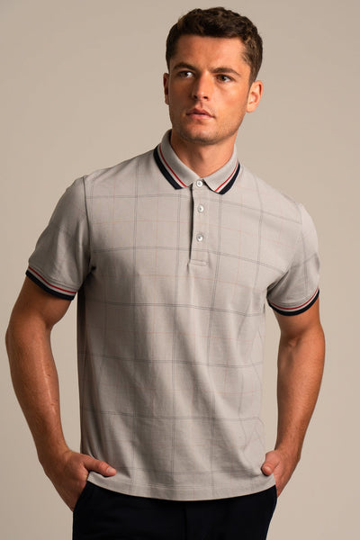 Elroy Plaid Polo