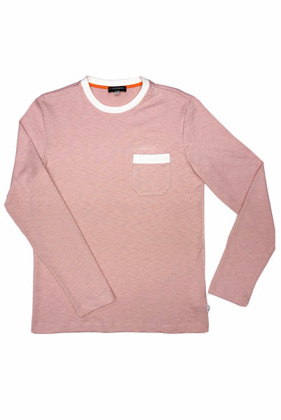 Flatbush Soft Jersey Long Sleeve Combo Tee