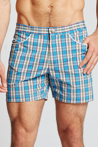 Hampton Plaid Trunk