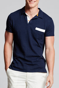 Hyannis Polo - Solid Soft Slub