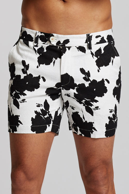 Laguna Short - Textured Floral