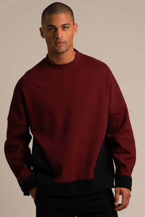 Skateboard Oversized Sweatshirt Brick