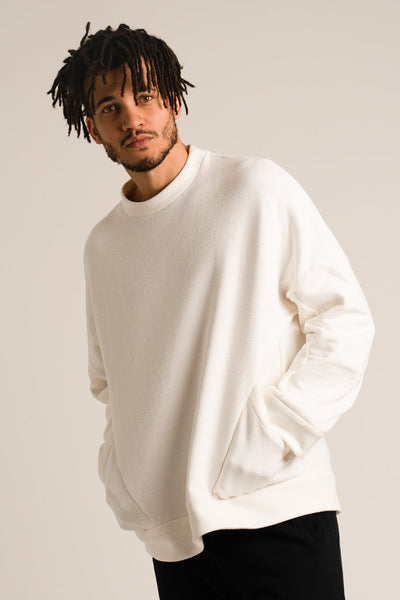 Skateboard Oversized Sweatshirt Textured Terry