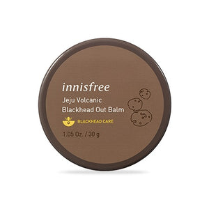 A Blackhead Out Balm in brown and circle