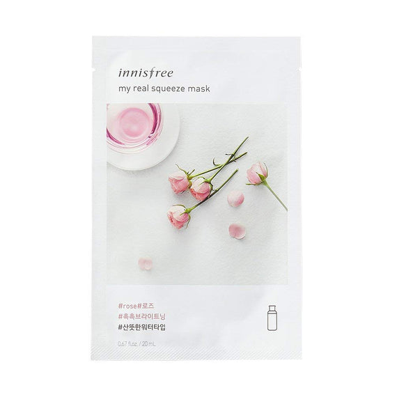Innisfree My Real Squeeze Mask Ex (5 flavors)