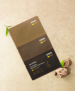 Innisfree Jeju Volcanic Blackhead 3-Step Program
