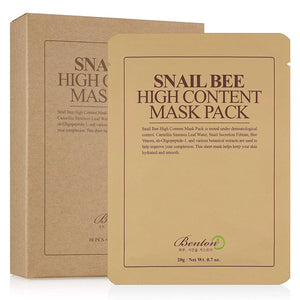 Benton Snail Bee High Content Sheet Mask