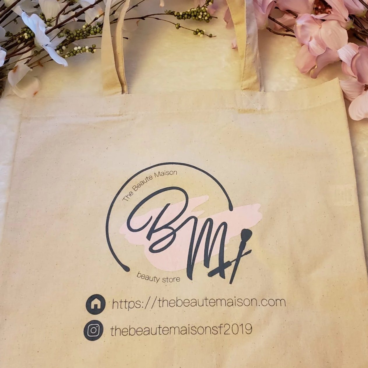 The Beaute Maison Tote Bag