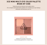 3 Concept Eyes - Mini Multi Eye Color Palette # Side By Side