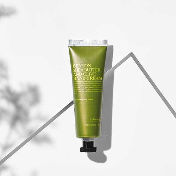 Green Butter and Olive Hand Cream