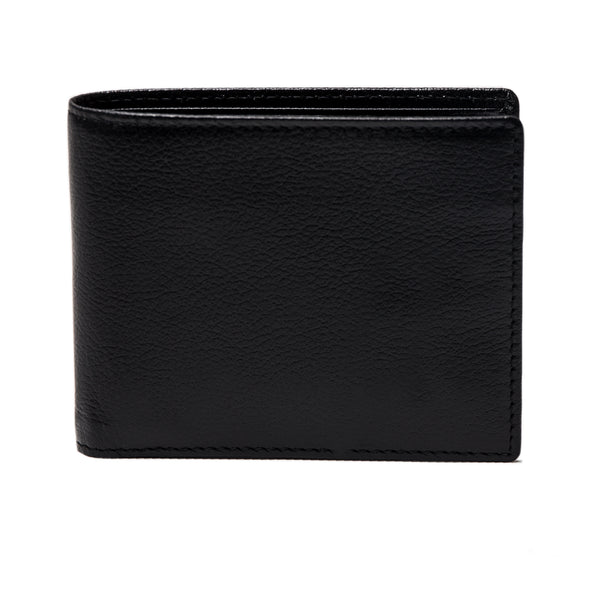 Capra Billfold With 6 C/C Black