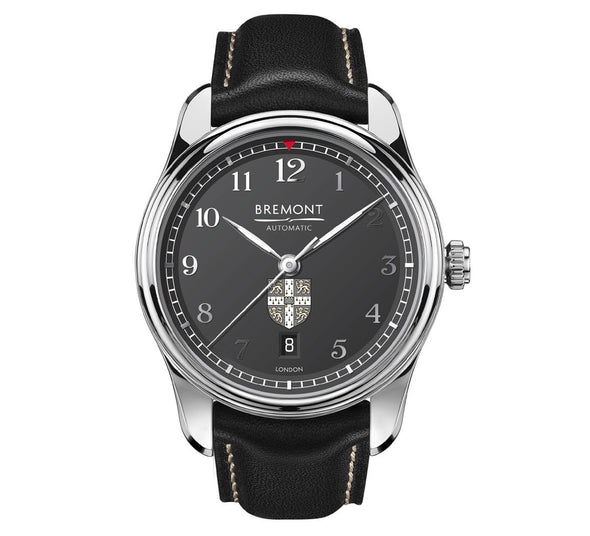 University of Cambridge: Bremont Airco Mach 2 (anthracite/leather/greyscale)