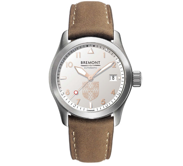University of Cambridge: Ladies Solo-37 (Rose Gold/Nubuck Strap)