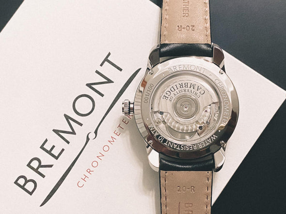 University of Cambridge Bremont Airco Mach 2 (white/bracelet/greyscale)