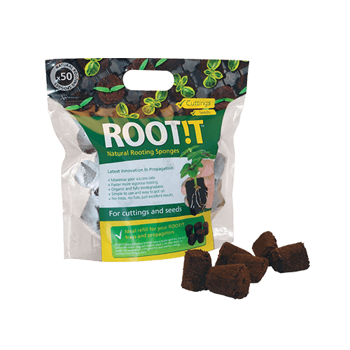 ROOT!T Natural Rooting Sponges 50 Refill Bags