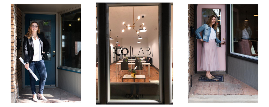 The CoLab coworking space in Lakewood Ohio