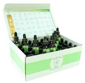 Crystal Herbs Bach Flower Remedy Sets