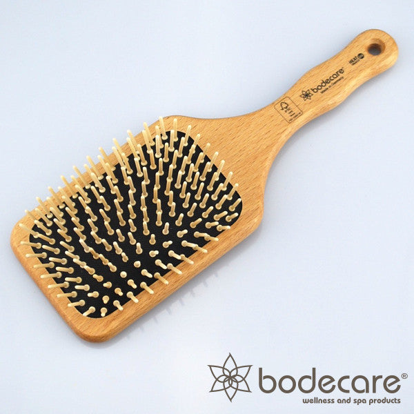Bodecare Wide Paddle Scalp Massage Hair Brush FSC