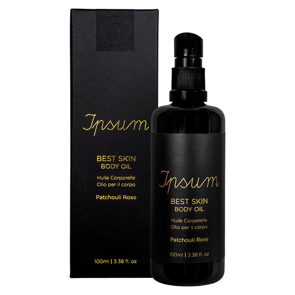 Ipsum Best Skin Body Oil Patchouli Rose