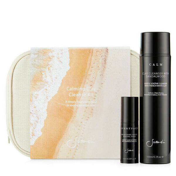 Sodashi Calming Clay Cleanse Kit