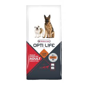 Opti Life Adult Digestion Medium & Maxi, 12,5kg