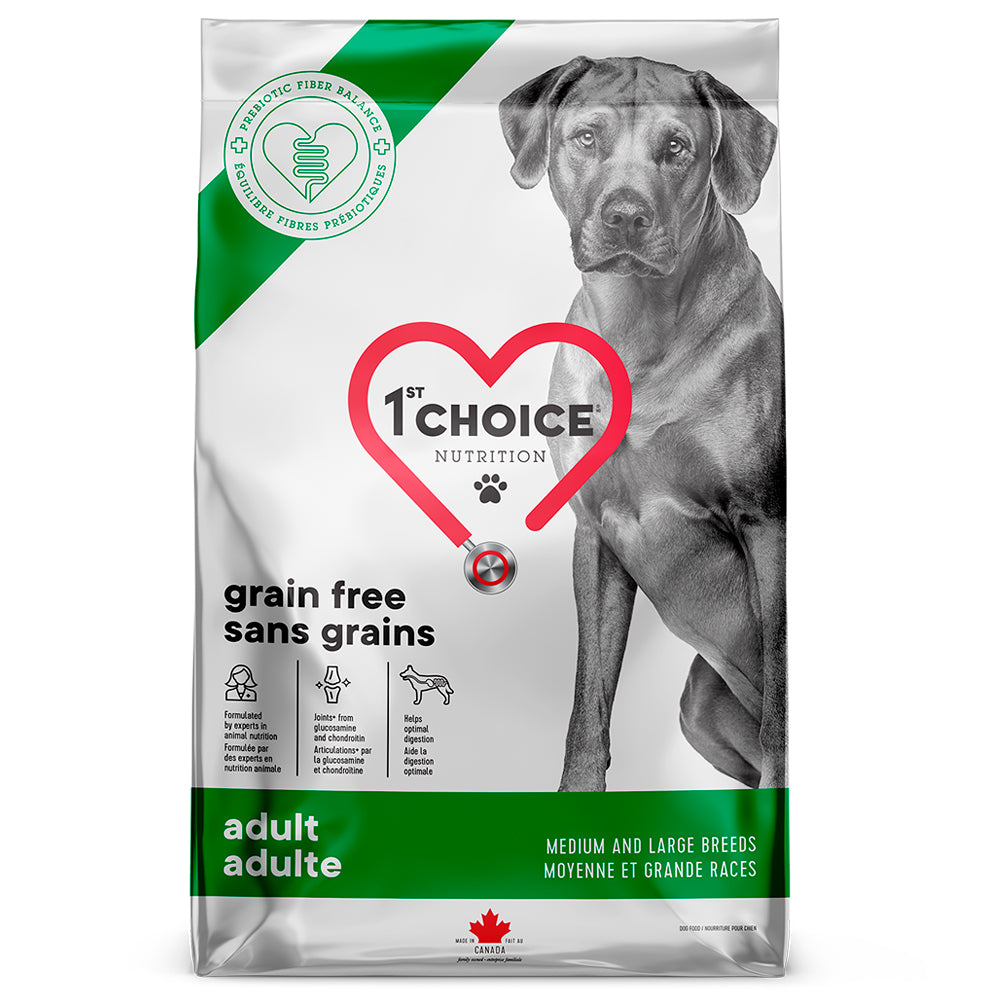 1st Choice Grain Free Medium & Large, 12 kg