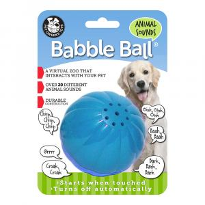 Pet Qwerks Babble Ball Jutteleva pallo