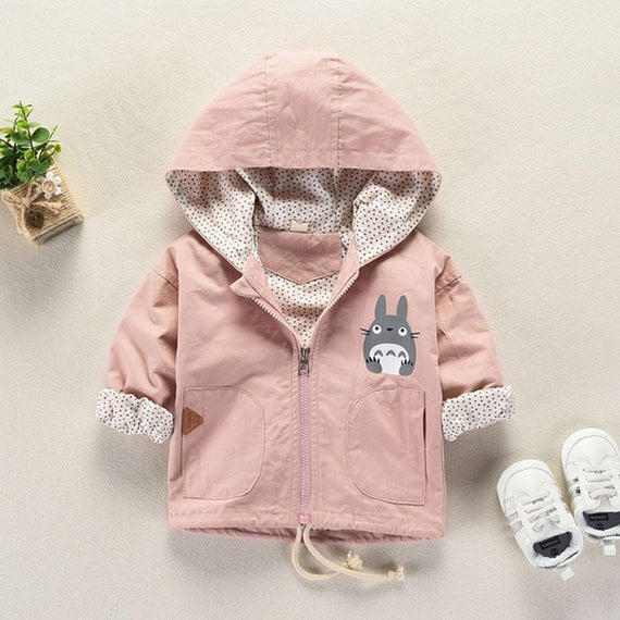 d7632ee6f Pink Spring Hooded Cartoon Jacket for Baby Boys and Girls – Benny & I