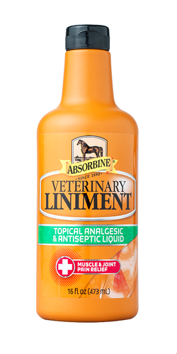 Absorbine Veterinary  Liniment For Horses (16 oz/32 oz/1 gal) - Animal Health Express