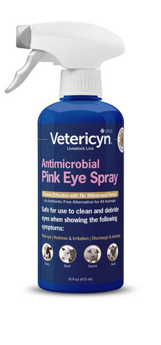 Vetericyn Pink Eye Wash - 3 oz - Animal Health Express
