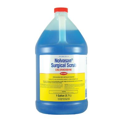 Nolvasan Surgical Bacterial and Fungal Animal Skin Scrub - (1 gal.) - Animal Health Express