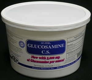 SU-PER Glucosamine C.S. Powder by Gateway Products