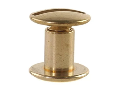 Chicago Screws Plain Solid Brass - Animal Health Express