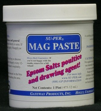 SU-PER Mag Paste ~ Espsom Salts Poultice ~ by Gateway Products