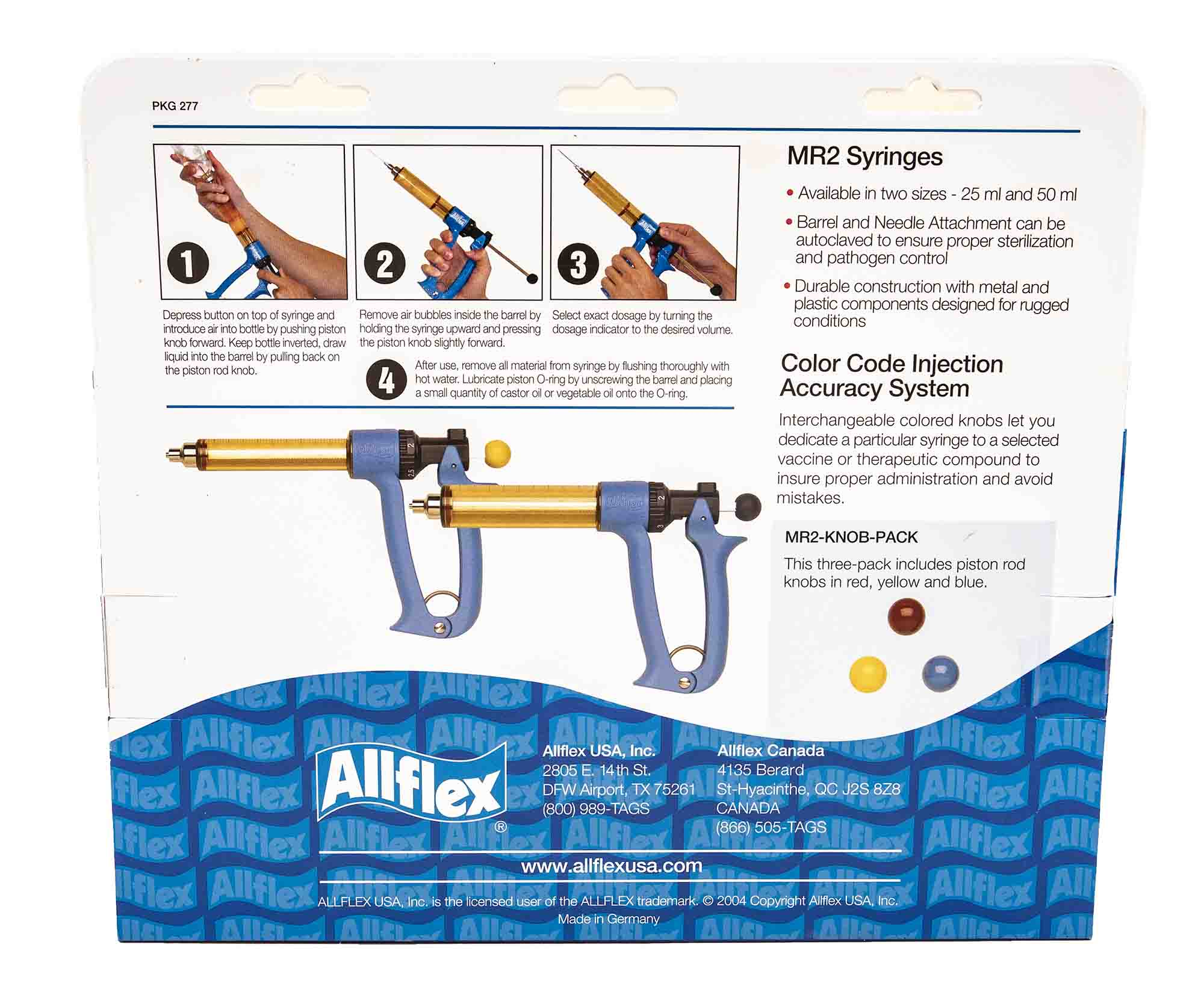 Load image into Gallery viewer, Allflex Repeater Syringes - 25/50ml